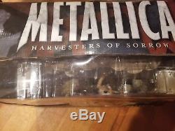 Metallica Harvesters of Sorrow Super Stage Figures McFarlane in Box