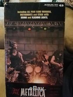Metallica Harvesters of Sorrow action figure box set