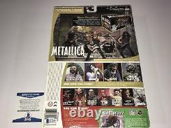 Metallica Jason Newsted Rare Signed Todd McFarlane Action Figure Statue BAS COA