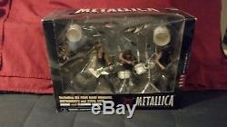 Metallica McFarlane Set Harvesters of Sorrow Sealed And Justice For All