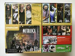 Metallica Mcfarlane Harvesters of Sorrow box set New Never Opened