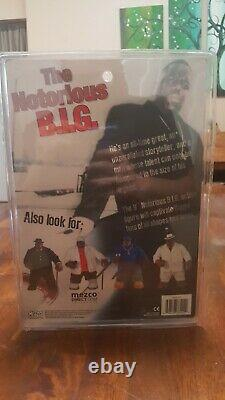 Mezco Biggie Smalls Notorious B. I. G. Blue Suit Variant Life After Death Figure