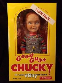 Mezco Good Guys Chucky Full Size Doll Talks! Childs Play