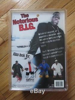 Mezco NOTORIOUS B. I. G. 9 Figure Black Suit Biggie Smalls (The Illest)