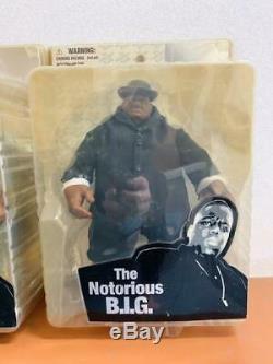 Mezco Notorious BIG, Biggie 3 Lot of Set Figures Hip Hop Rare