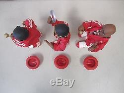 Mezco Toys 2002 Run DMC Special Edition Figures RIP JMJ Set of 3