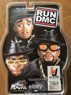 Mezco Toyz Run DMC Jam Master Figure 3 Set Orange Outfit Colletion Hobby Hiphop
