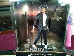 Michael Jackson Playmates Lot of 3 Figures Thriller, Beat It, Billie Jean NIB