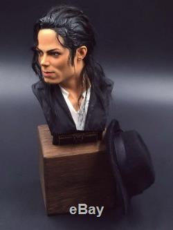 Michael Jackson The King of Pop 1/3 Bust 9 Figure Statue Toy Limit Collectibles