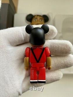 Michael Jackson Thriller 400% 100% Red Jacket Bearbrick Medicom Be@rbrick MJ