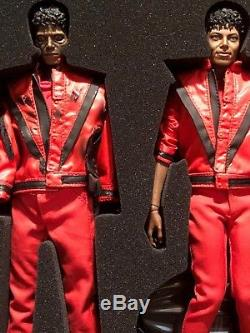Michael Jackson Thriller Deluxe Figure 1/6 Hot Toys Set
