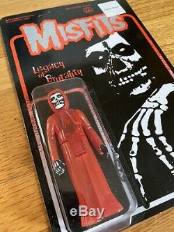Misfits Super7 ReAction Figure Legacy Of Brutality Red Variant Limited Edition
