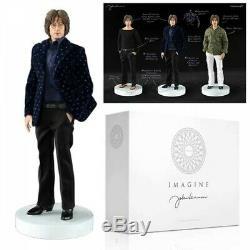 Molecule8 1/6 Scale 12 John Lennon Imagine Figure with2 Heads & 3 Outfits NIB
