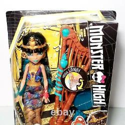 Monster High Music Class Cleo De Nile Doll NEW VERY RARE
