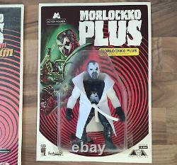 Morlockko Plus Zurück IM Laboratorium Action Figur Limited Lp New Sealed Dilemma