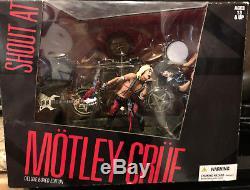 Motley Crue McFarlane Deluxe Box Set. BRAND NEW