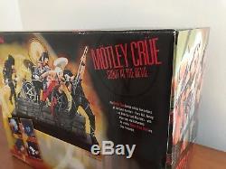 Motley Crue Mcfarlane Shout Devil Box Set Unopened! Free Ship