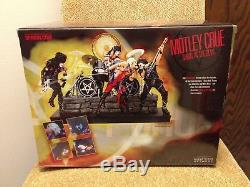 Motley Crue Shout At The Devil McFarlane Toys Deluxe Box Set New Never Opened