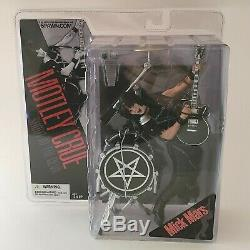Motley Crue Shout At The Devil Mick Mars Action Figure by McFarlane Toys MOC