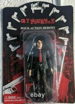 My Chemical Romance Action Figures, Full set of Five. Prayer card edition
