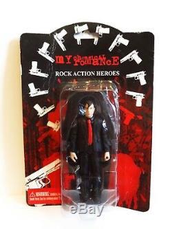 My Chemical Romance Frank Iero Action Figure Guitarist Rare MCR Revenge NEW