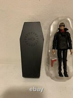 My Chemical Romance MIKEY WAY Action Figure with Coffin, SEG Toys, RARE