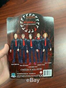 My Chemical Romance Revenge Frank Iero Action Figure Rare Prayer Card MCR NEW