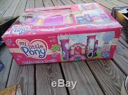 My Little Pony Celebration Castle Music Light Sound House Toy MLP 2002 NEW SEALE