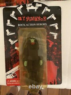 My chemical romance zombie Action Figures Rare