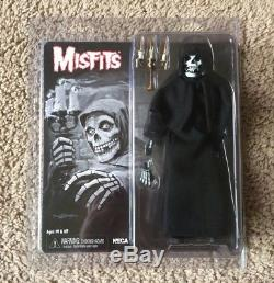 NECA 2014 Misfits The Fiend Action Figure Crimson Ghost Black Version Cloth Robe
