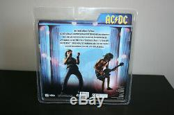 NECA AC/DC Angus Young Brian Johnson Rock Music Hand Signed by AC/DC RARE