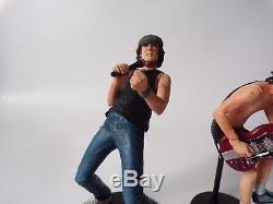 NECA AC/DC Brian Johnson & Angus Young Action Figure Set Rock Memorabilia