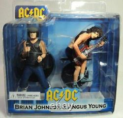 NECA Action Figure 2-Pack Set AC/DC Angus Young & Brian Johnson