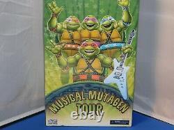 NECA Convention Exclusive Teenage Mutant Ninja Turtles Musical MutagenTour NMISB