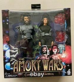 NECA Exclusive Coheed & Cambria Armory Wars 7 Action Figure 2 Pack MIB