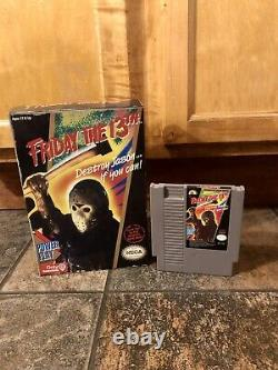 NECA Friday The 13th NES Music Working + Friday The 13th NES Game Authentic