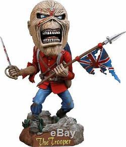 NECA Iron Maiden Eddie The Trooper Head Knocker