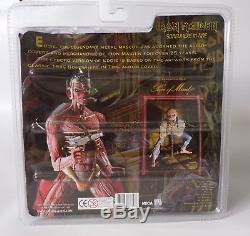 NECA Iron Maiden Somewhere in Time Eddie Action Figure, Metal Memorabilia 2005