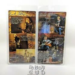 NECA Kurt Cobain Nirvana 2 Figure Set Unplugged and Smells Like Teen Spirit NIP