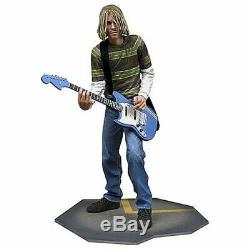 NECA Kurt Cobain Smells Like Teen Spirit Fender Guitar Action Figure Toy 43231