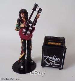 NECA Led Zeppelin Jimmy Page Action Figure Mint / Complete 2006, Memorabilia