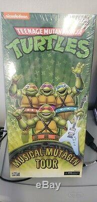 NECA SDCC 2020 Teenage Mutant Ninja Turtles Musical Mutagen Tour FIGURES 4 Pk