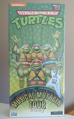 NECA SDCC 2020 Teenage Mutant Ninja Turtles Musical Mutagen Tour Set New