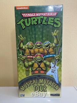 NECA Teenage Mutant Ninja Turtles Musical Mutagen Tour Bundle XL SHIP READY