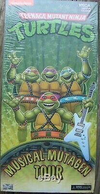 NECA Teenage Mutant Ninja Turtles Musical Mutagen Tour Free Ship U. S. Only