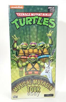 NECA Teenage Mutant Ninja Turtles TMNT Musical Mutagen Tour NIB In-Hand