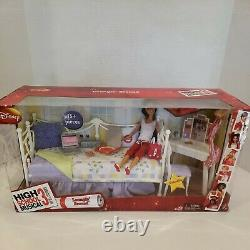 NEW IN BOX High School Musical 3 Loungin Around Gabriella Playset and Doll