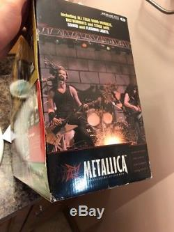 NEW MCFARLANE TOYS METALLICA ACTION FIGURE HARVESTERS of SORROW BOXED STAGE SET