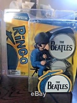 NEW McFarlane Beatles Cartoon Ultra Action Figure Set of 4