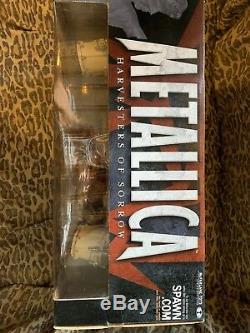 NEW! McFarlane Metallica Box Figure Set James Lars Kirk Jason